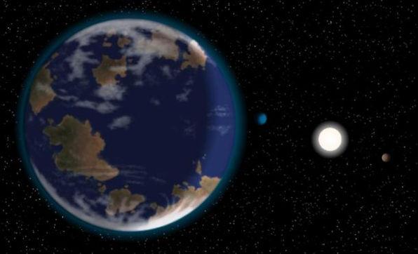 Descubren un exoplaneta con condiciones similares a las de la Tierra - exoplaneta-con-condiciones-similares-a-la-tierra