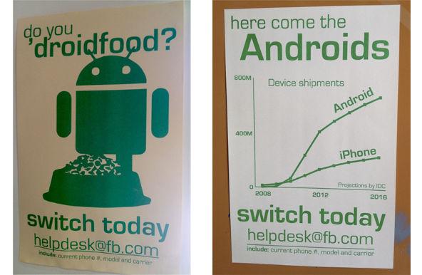 Facebook estaría incitando a sus empleados a cambiarse a Android [Rumor] - facebook-incita-a-cambiarse-a-android