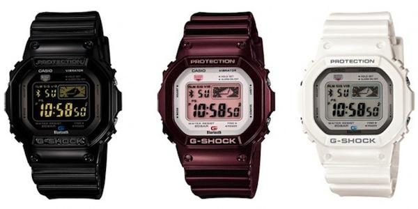 Casio presenta unos relojes G-Shock que se comunican con el iPhone - g-shock-iphone