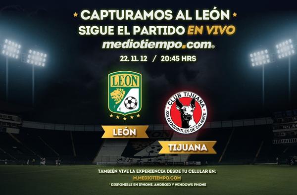 León vs Tijuana en vivo, Semifinal Apertura 2012 (Liga MX) - leon-tijuana-en-vivo-semifinal-apertura-2012