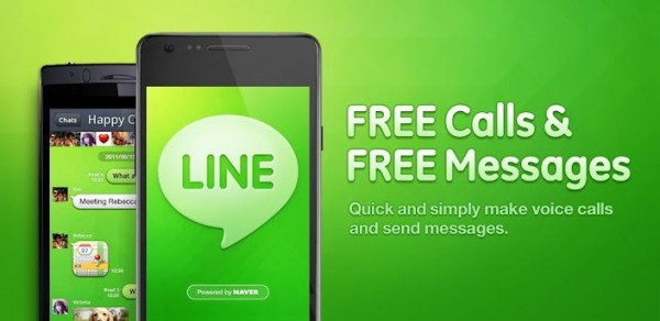 Line, la popular alternativa a Whatsapp ya cuenta con versión en español para Android - line-naver-600x292