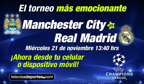 Manchester City vs Real Madrid en vivo, Champions League 2012 - manchester-city-real-madrid-en-vivo-champions-league-2012