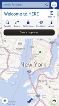 Los mapas de Nokia, de nombre Here ya están disponibles para iOS - nokia-here-