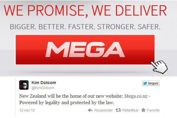 """Kim Dotcom presenta nuevo dominio para """"Mega"""" - nuevo-dominio-de-mega-con-sede-en-nueva-zelanda"""