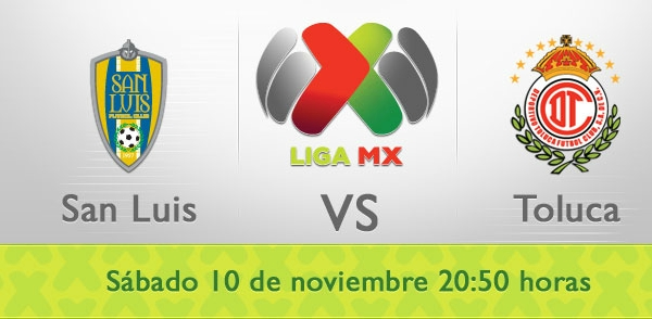 san luis toluca en vivo apertura 2012 San Luis vs Toluca en vivo, Liga MX (Apertura 2012)