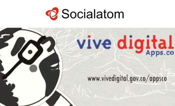 Colombia lanza el programa de aceleramiento de startups Apps.co - socialatom-appsco