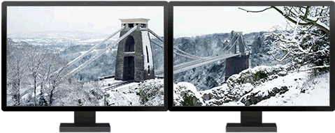 Temas de Windows 8 optimizados para dos monitores - temas-windows-8-puentes