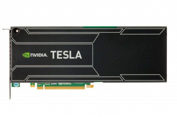 NVIDIA presente en la supercomputadora mas veloz del mundo con su Tesla K20 - teslak20-590x393