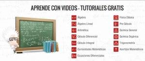 Aprender matemáticas, química y física con videos en TareasPlus