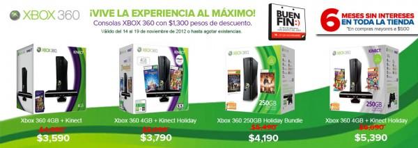 Ofertas para el Buen Fin también de parte de Game Planet - xbox-360-gameplanet-600x213