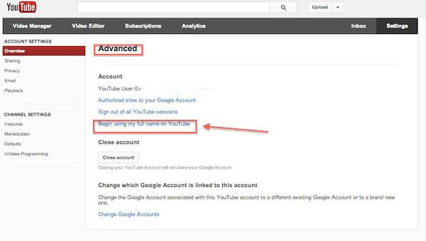 Cómo cambiar el nombre de usuario de Youtube por el de Google Plus - Cambiar-usuario-youtube-3