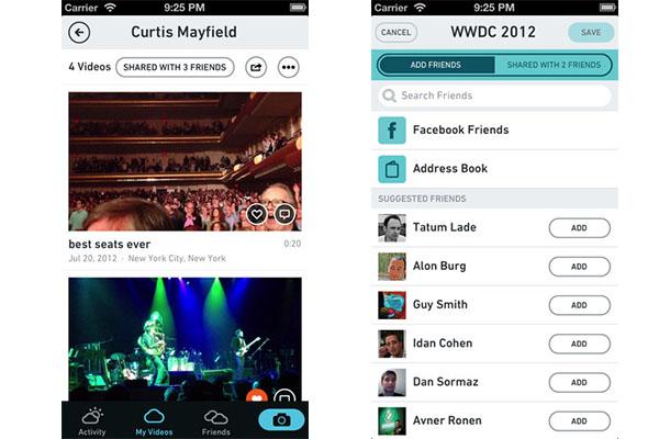 Cloudee, un servicio para compartir videos de manera privada - Cloudee-iOS