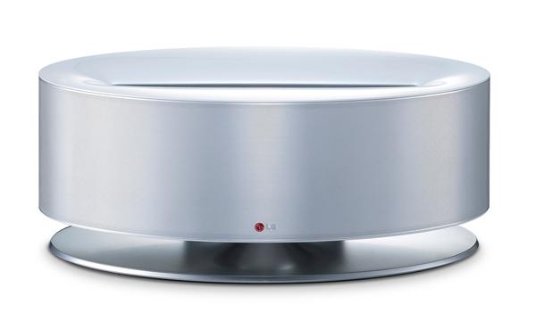 LG presentará poderosos productos de audio y video con funciones Smart TV durante el CES 2013 - Docking-Speaker-ND8630