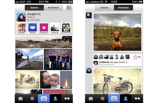 Flickr para iOS se actualiza con filtros a la Instagram - Flickr-ios-filtros