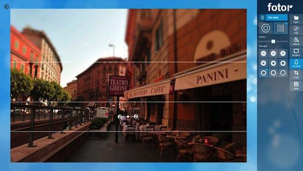 Efectos en tus fotos como Instagram con Fotor para Windows 8/RT - Fotor