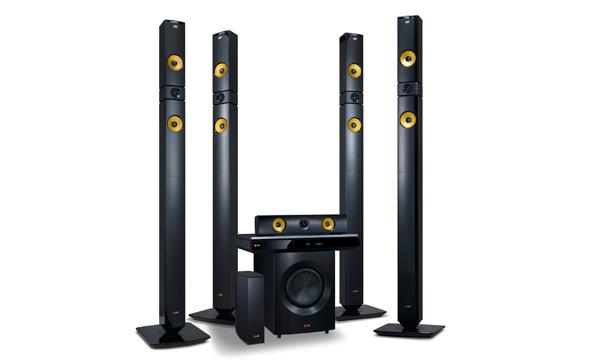 LG presentará poderosos productos de audio y video con funciones Smart TV durante el CES 2013 - Home-Theater-System