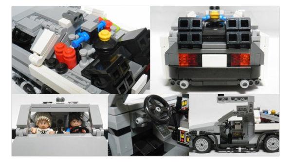 LEGO de Volver al Futuro llegará a mediados del 2013 - LEGO-volver-al-futuro-4