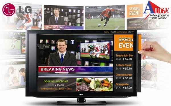 Video Wall 3D y pantalla UltraHD de 84 pulgadas destacan entre lo que presentará LG en el CES 2013 - LG-EzSignTV-600x373