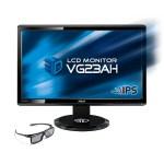 Monitor 3D ASUS VG23AH, una de las mejores pantallas con 3D [Reseña] - Monitor-Asus-VG23AH