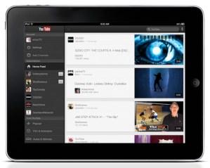 Youtube para iOS se actualiza y es compatible con el iPad e iPhone 5