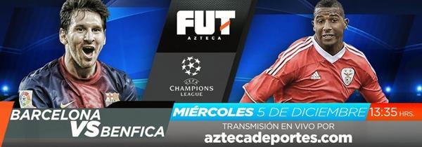 Barcelona vs Benfica en vivo, Champions League 2012 - barcelona-benfica-en-vivo-champions-2012