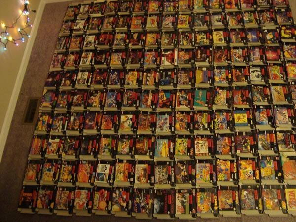 Coleccionista pone a la venta sus 721 cartuchos de Super Nintendo en eBay - cartuchos-super-nintendo-ebay
