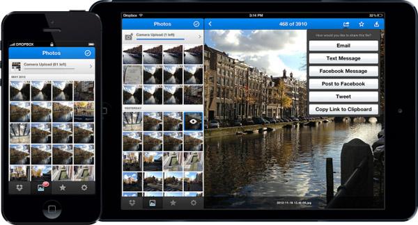 Dropbox lanza su versión 2.0 para iOS - dropbox-ios