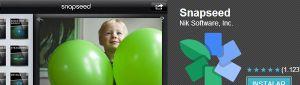 Aplicación Snapseed ahora disponible también para Android