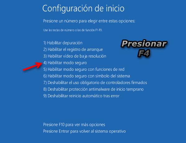 inicio windows modo seguro 2 Cómo Iniciar Windows 8 en Modo Seguro
