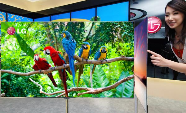 LG presenta en México su tecnología OLED para televisores - lg-55-inch-oled-tv
