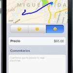 Pedir taxis desde el celular con Yaxi - taxi-app