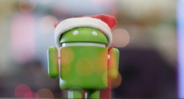 Android nos desea Felices Fiestas [Video] - video-de-android-felices-fiestas
