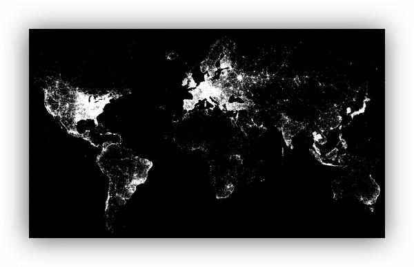 Foursquare nos muestra un mapa con los últimos 500 millones de check-ins - 500millones-foursquare