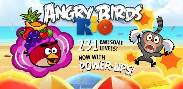 Angry Birds Rio para iPhone e iPad gratis por tiempo limitado - Angry-Birds-Rio-iOS