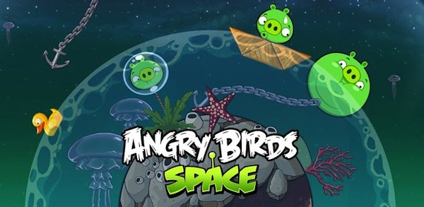Angry Birds Space se actualiza con 30 niveles más con la Galaxia Splash - Angry-Birds-Space