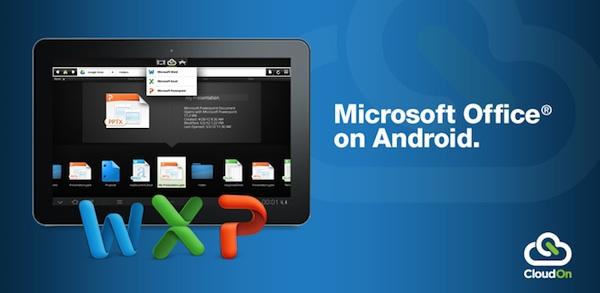 CloudOn, la aplicación para usar Office en Tablets por fin disponible internacionalmente - CloudOn-Android
