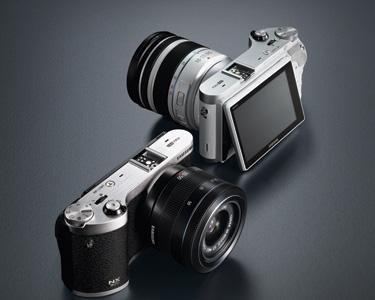 Samsung presenta el primer lente en el mundo con sistema 3D - NX300