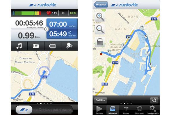Runtastic Pro para iPhone de manera gratuita por tiempo limitado - Runtastic-pro