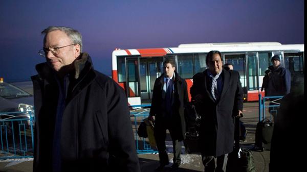 Gobierno de Estados Unidos critica el viaje del presidente de Google a Corea del Norte - bill-richardson-google