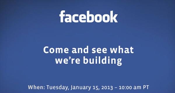 Facebook por anunciar un producto revelador ante los medios - facebook-press