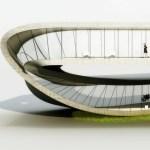 Primer edificio que será construido con una impresora 3D - landspace-house-left