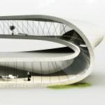 Primer edificio que será construido con una impresora 3D - landspace-house-right