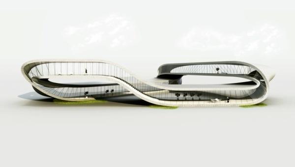 Primer edificio que será construido con una impresora 3D - landspace-house