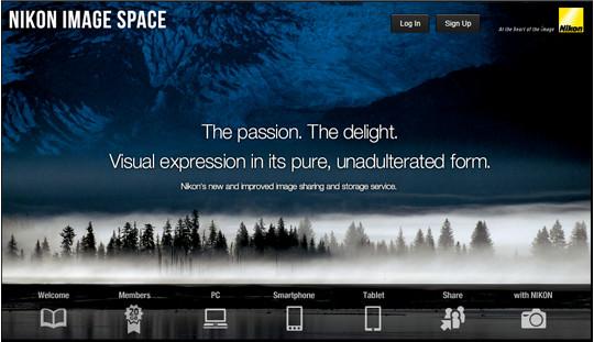 nikon image space Nikon presenta Nikon Image Space y regala 20GB de almacenamiento para dueños de equipos de la marca