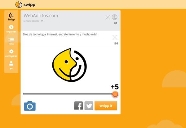 La nueva red social Swipp se diferencía al medir la opinión pública - swipp-webadictos