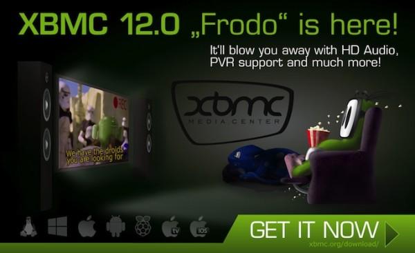 """XBMC 12 """"Frodo"""" ya está disponible con varias novedades interesantes - xbmc-12-frodo-600x367"""
