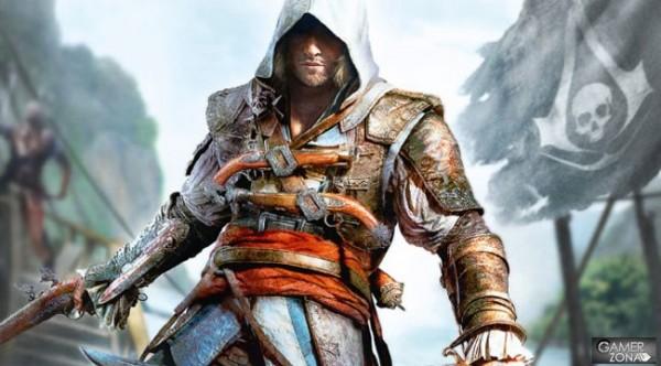 Assassin's Creed 4 se confirma para PC, PS3, Xbox 360 y Wii U - Assassins-Creed-4-Black-Flag-3-600x332