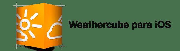Weathercube, una aplicación del tiempo minimalista para iOS - Weathercube-ios