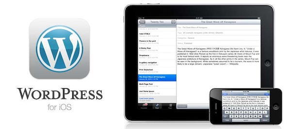 Wordpress para iOS se actualiza y estrena notificaciones push - Wordpress-3-4-iOS