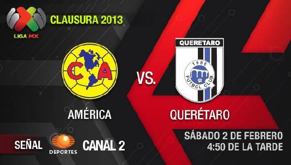 América vs Querétaro en vivo, Clausura 2013 (Liga MX) - america-queretaro-en-vivo-clausura-2013